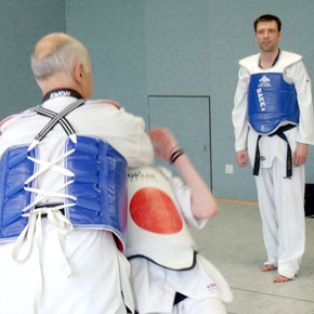 Taekwon-Do: Zweites Trainer-Training