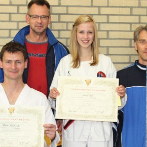 Taekwondo: Danprüfung-Report