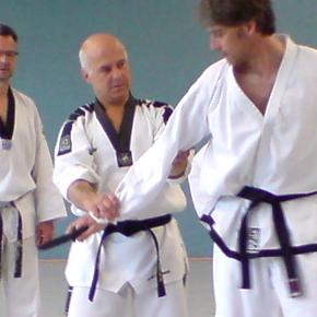 Taekwondo: Dantraining im Mai 2011