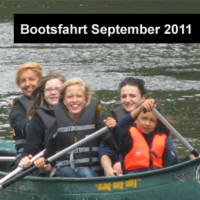Bootsfahrt September 2011