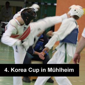 4. Korea-Cup in Mülheim