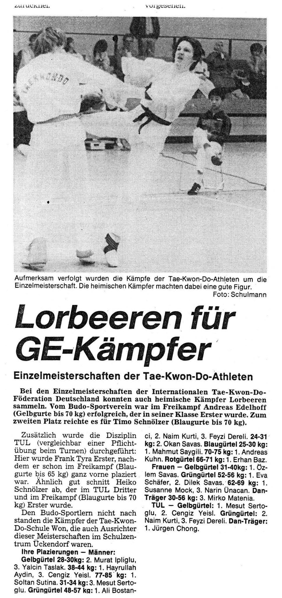 Lorbeeren